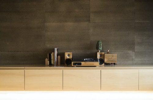 Soundbars and speaker set wood style