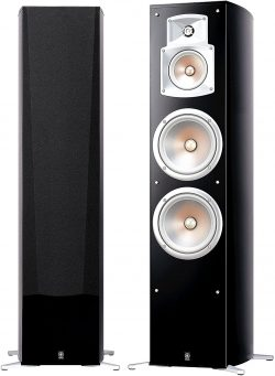Speaker from Yamaha 7.2-Channel Wireless Surround Sound Home Theater System