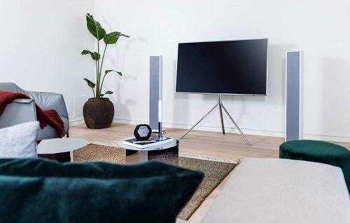 Speaker with TV