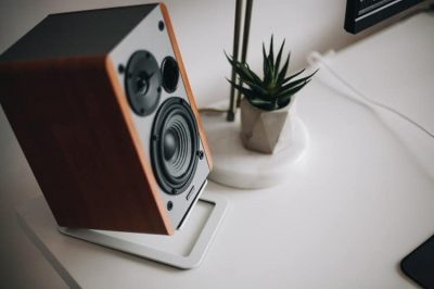 Subwoofer with wood design