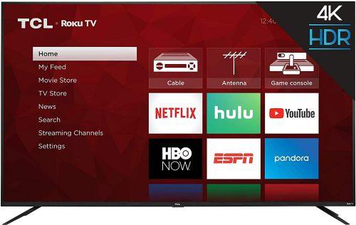 TCL 75S425 HDR Smart Roku TV