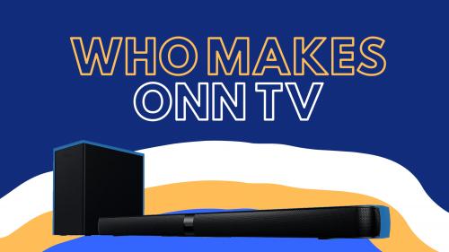 who makes onn tv