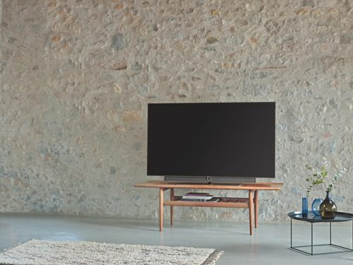 TV on a table
