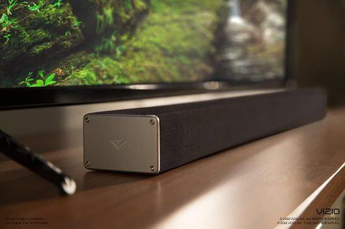 Vizio SB3621N-F8M below TV