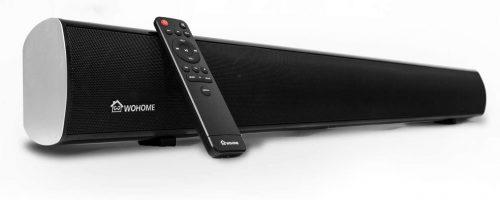 WOHOME Sound bar 2.1 Channel TV Soundbar