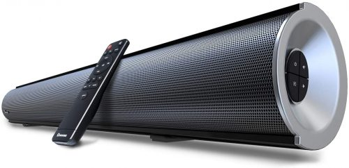 Wohome Sound Bar with Built-in Subwoofer With Remote