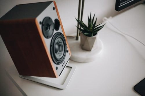 Wood Sonos speaker