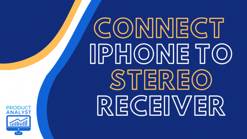 connect iphone to stereo receiver
