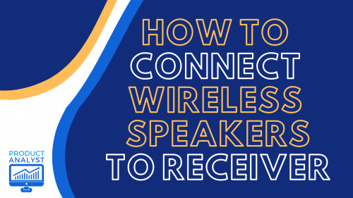 wireless speaker and receiver connection