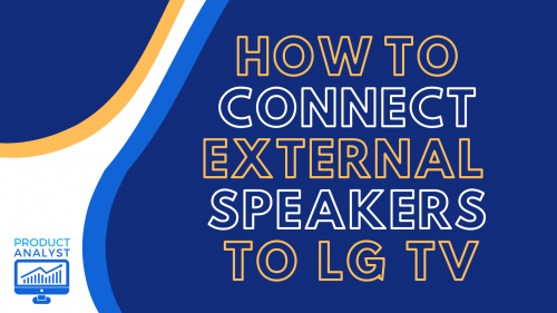 how to connect external speakers to lg tv