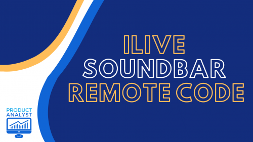 ilive soundbar remote code