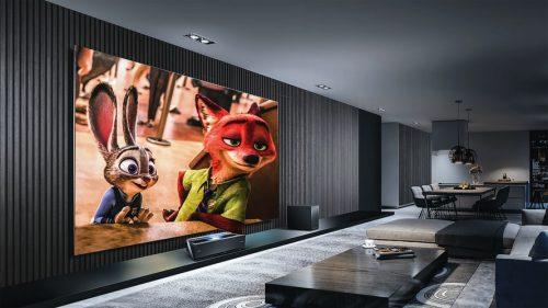 living room home theater setup