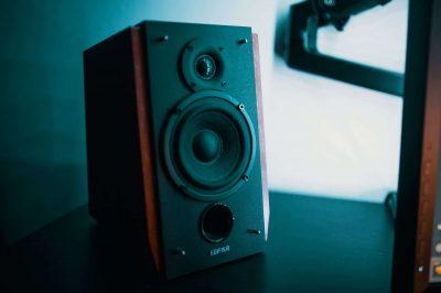 brown speaker