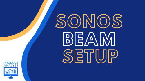 sonos beam setup