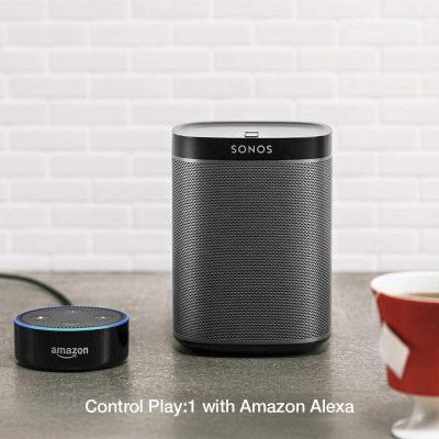 Sonos Play 1 with Amazon Alexa
