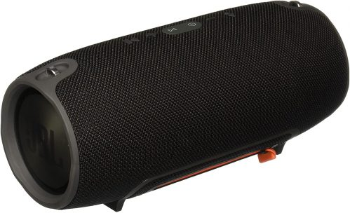 Back of JBL Xtreme Portable Wireless Bluetooth Speaker