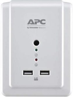 APC Wall Outlet Surge Protector front view
