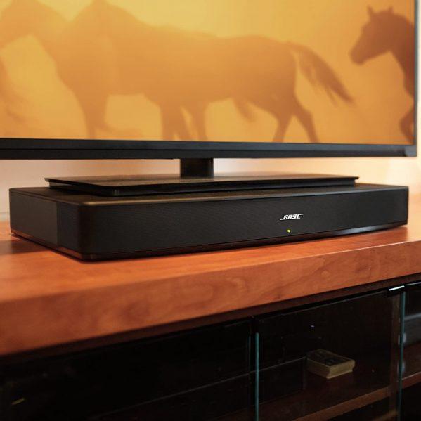 Bose Solo 15 under a TV