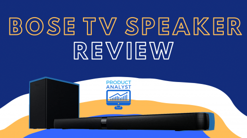 Bose TV Speaker Review