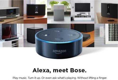 Bose meets Alexa