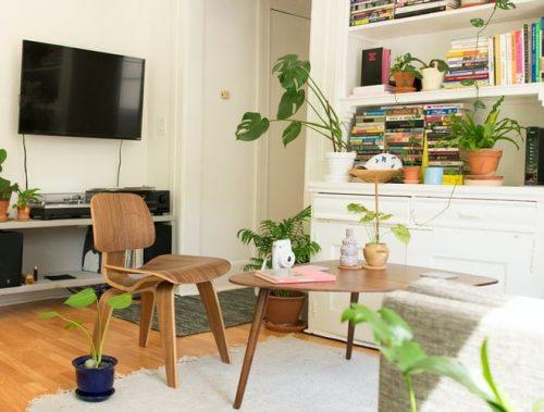 Flatscreen TV in a Garden Room