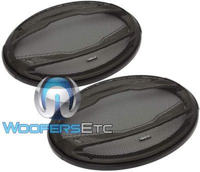 Hertz HCX690 3-Way Speaker and wook with Gradient Text