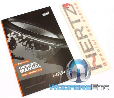 Hertz Car Speaker Owner's Manual