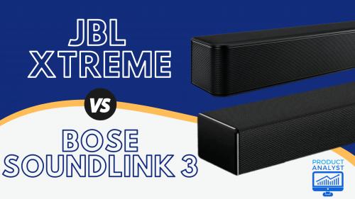 JBL Xtreme vs Bose Soundlink 3