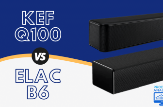 KEF Q100 vs Elac B6 — Which is the Better Bookshelf Speaker for Audiophiliacs? (2021)