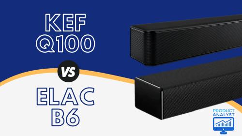KEF Q100 VS ELAC B6