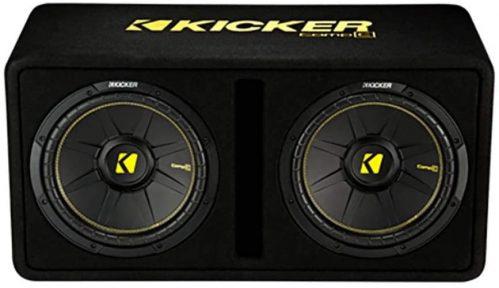 Kicker Dual 10-Inch 1200 Watt 2 Ohm Vented Loaded Subwoofer