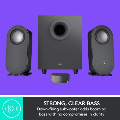 Logitech Z407 strong, clear bass