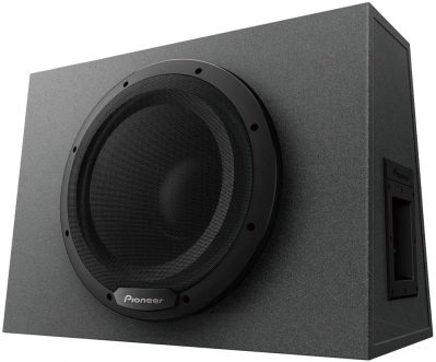 Pioneer TS-WX1210A 12 in Black Trapezoidal Box