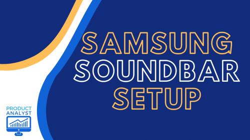 Samsung Soundbar Setup