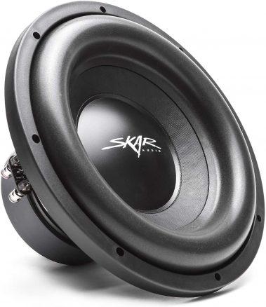 Skar Audio Dual 12 inch 2400W Black Round with Logo