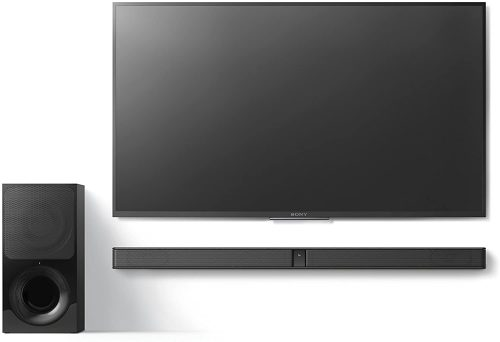 Sony HT-CT290 under a Sony TV