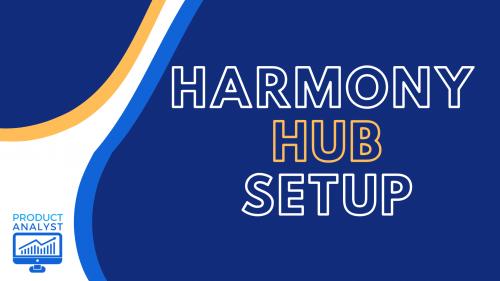 Harmony Hub Setup