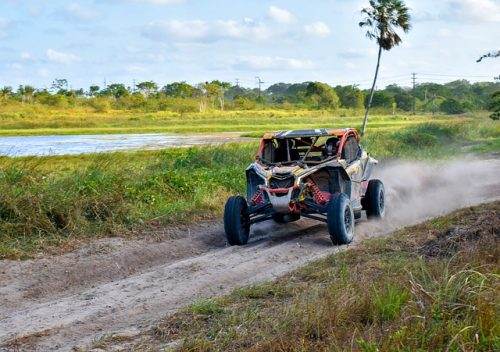 UTV being used offroad