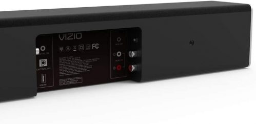 place for connections on the Vizio SB3820-C6