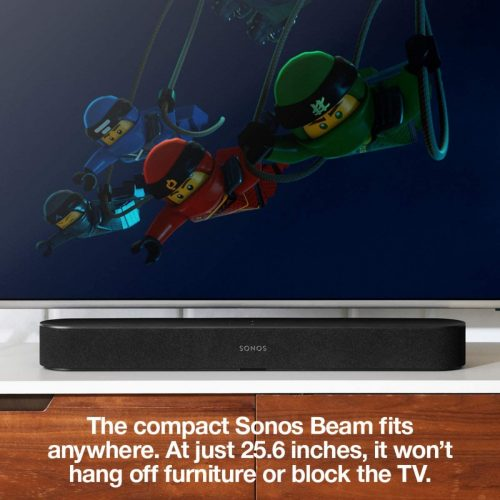 Sonos Beam fit perfectly under TV