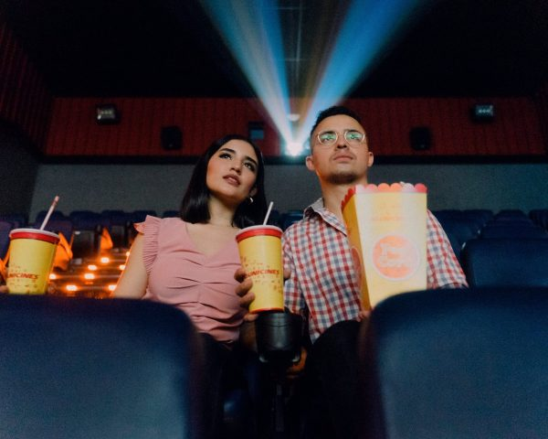 two people in a movie theater